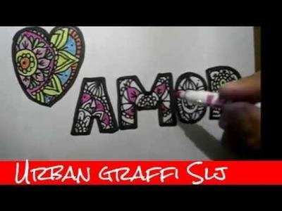Arte antiestres Paso a paso Como Hacer dibujos de amor como dibujar un corazon Mandalas