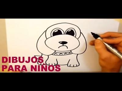 Dibujos para niños muy faciles PARTE 3 - Dibuja en 30 segundos