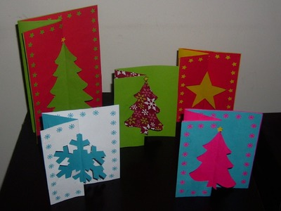 ¿Cómo hacer una tarjeta navideña original y bonita?