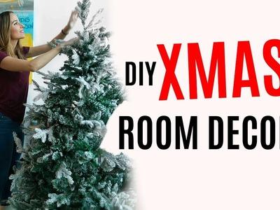 Crea tus adornos para el árbol de Navidad | XMAS ROOM DECOR #AyudantesDeLaNavidad