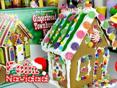 Decoremos la Casita de Jengibre| Casita de Navidad |Gingerbread House
