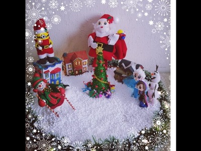 Ideas villa navideña