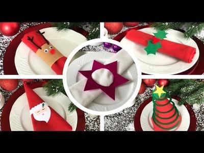 DIY Navidad: 5 ideas para decorar la mesa
