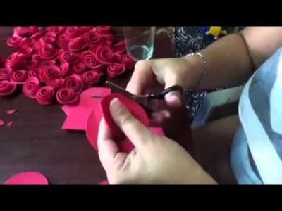 El taller de Lucy. Como hacer Rosas de Fomy. Progama #1