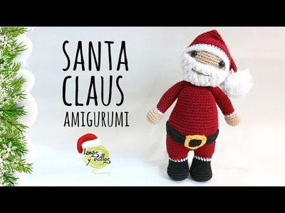 Tutorial Santa Claus Amigurumi Ganchillo | Crochet