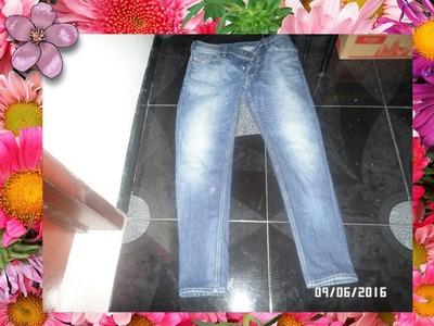 Como Entubar Un Jean Desde La Rodilla