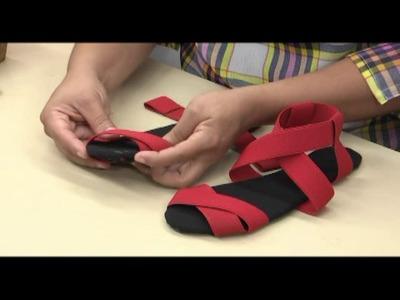 Como hacer sandalias. 3.5