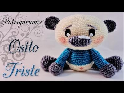 DIY OSITO TRISTE AMIGURUMI