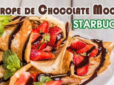 Sirope de Chocolate Mocha Estilo Starbucks