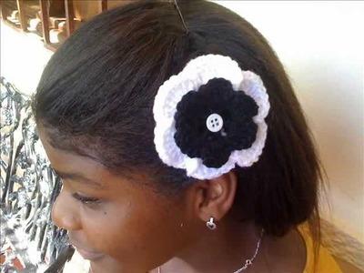 Accesorios para el cabello a crochet (Gachillo)