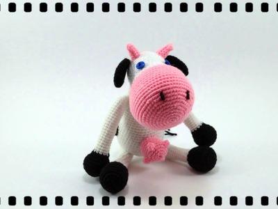 Amigurumi Vaca Pink Crochet