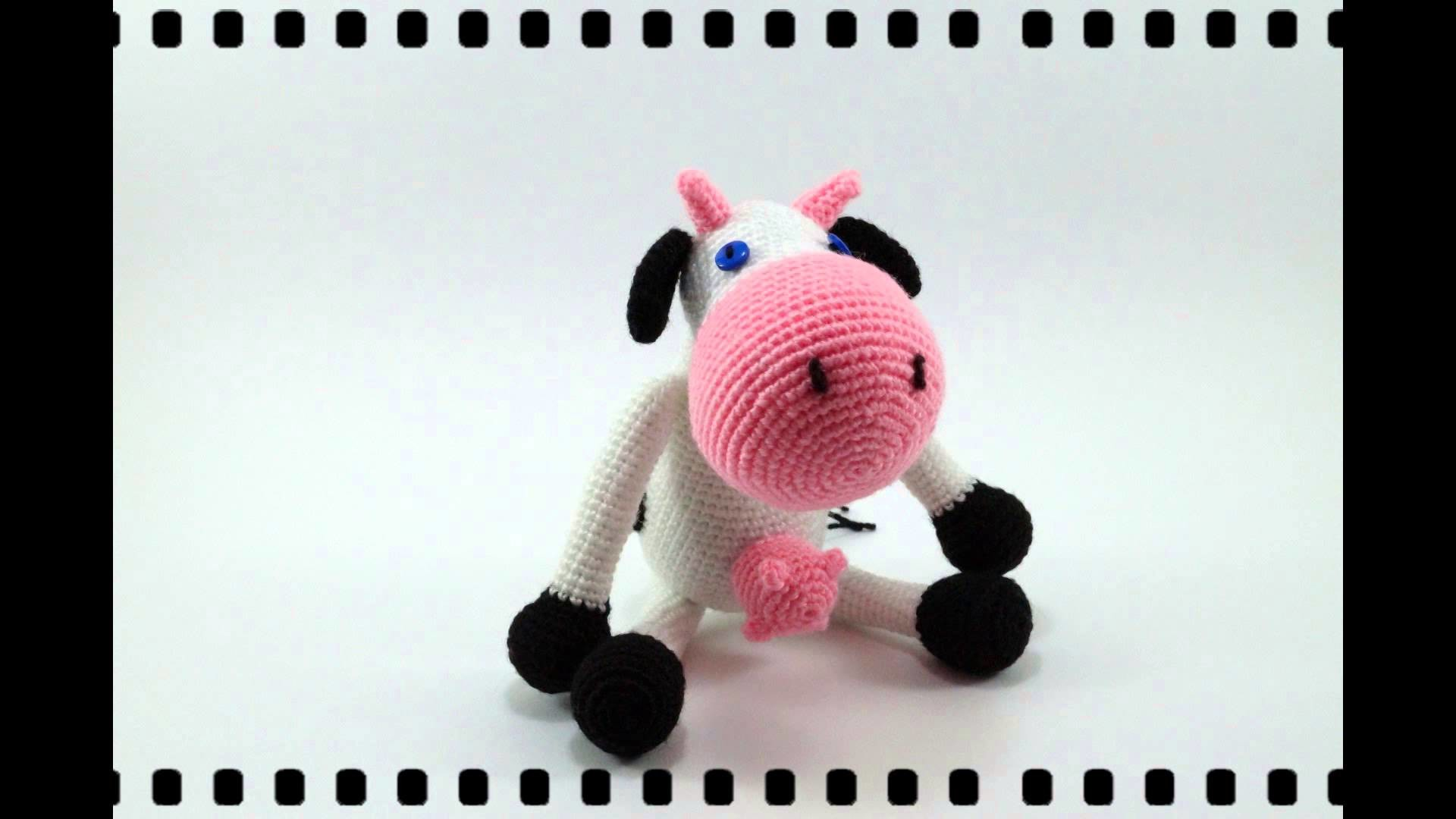 Amigurumi Vaca Pink Crochet, My Crafts and DIY Projects