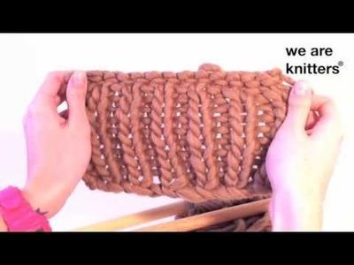 Aprende a tejer: ¿Cómo tejer punto elástico en lana?