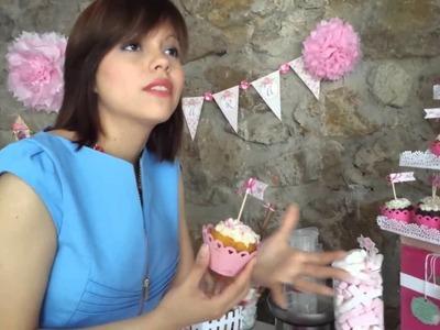 Como Decorar Mesa de dulces Scrapbook TERMINADA PRESENTACION