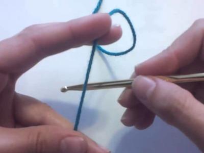 Cómo hacer el punto cadena para tejer a crochet