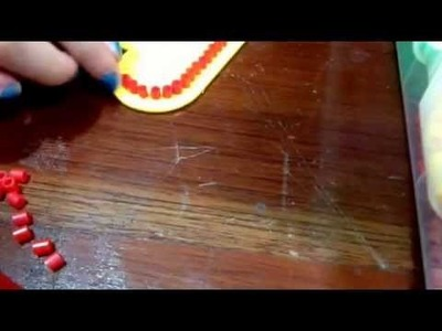Como hacer un corazón con perler beads (WK1.6)