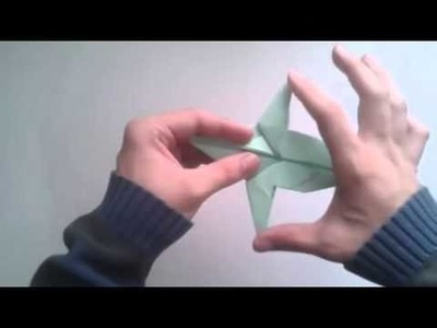 Como hacer un dragon de papel Gilad Aharoni   [Origami - Papiroflexia]