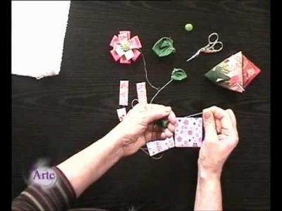 Cómo hacer un origami en tela