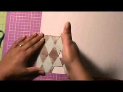Como hacer un word mini album scrapbook Parte 2