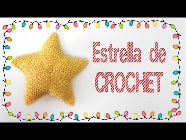 Cómo hacer una estrella de crochet