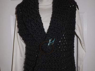 Crochet Chaleco o Bolero Bien Facil