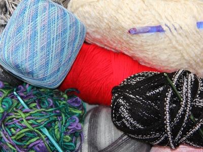 Curso Básico de Crochet  : Materiales