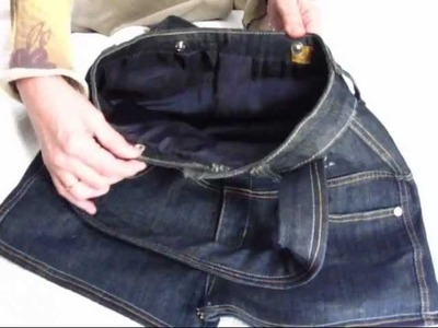 DIY: hazte un bolso con tus viejos vaqueros