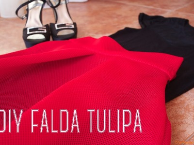 DIY - Tutorial Falda Tulipa