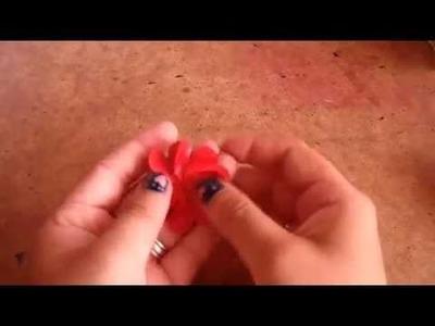 Flores faciles, para decorar tus creaciones DECORACION. SCRAPBOOK