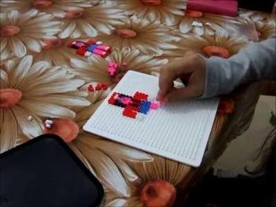 Manualidades con Hama Beads (mejor dicho con Pyssla del IKEA).