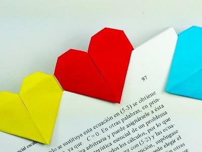 Marcapáginas Corazón - Origami!