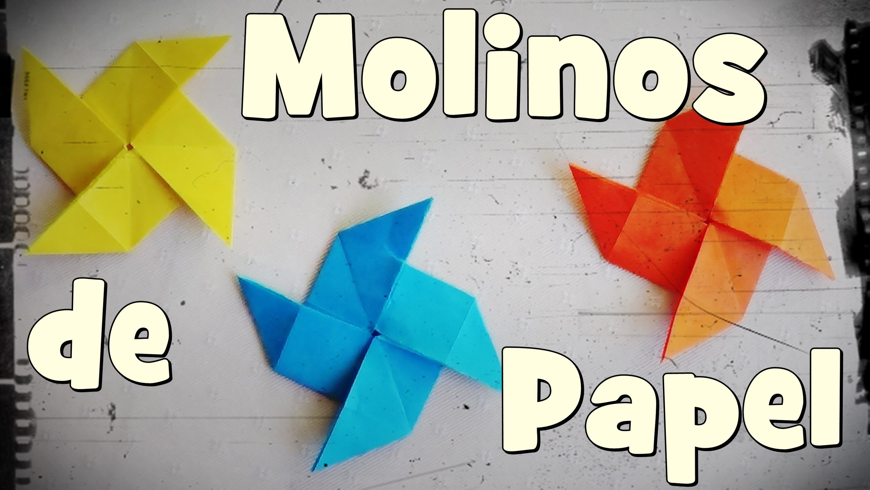 Molino de Papel - Origami