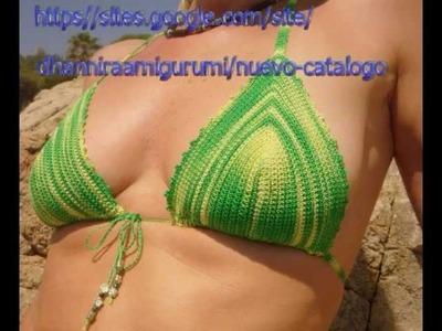 Nueva coleccion de bikinis crochet