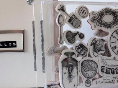 Organizar sellos. Craft tips