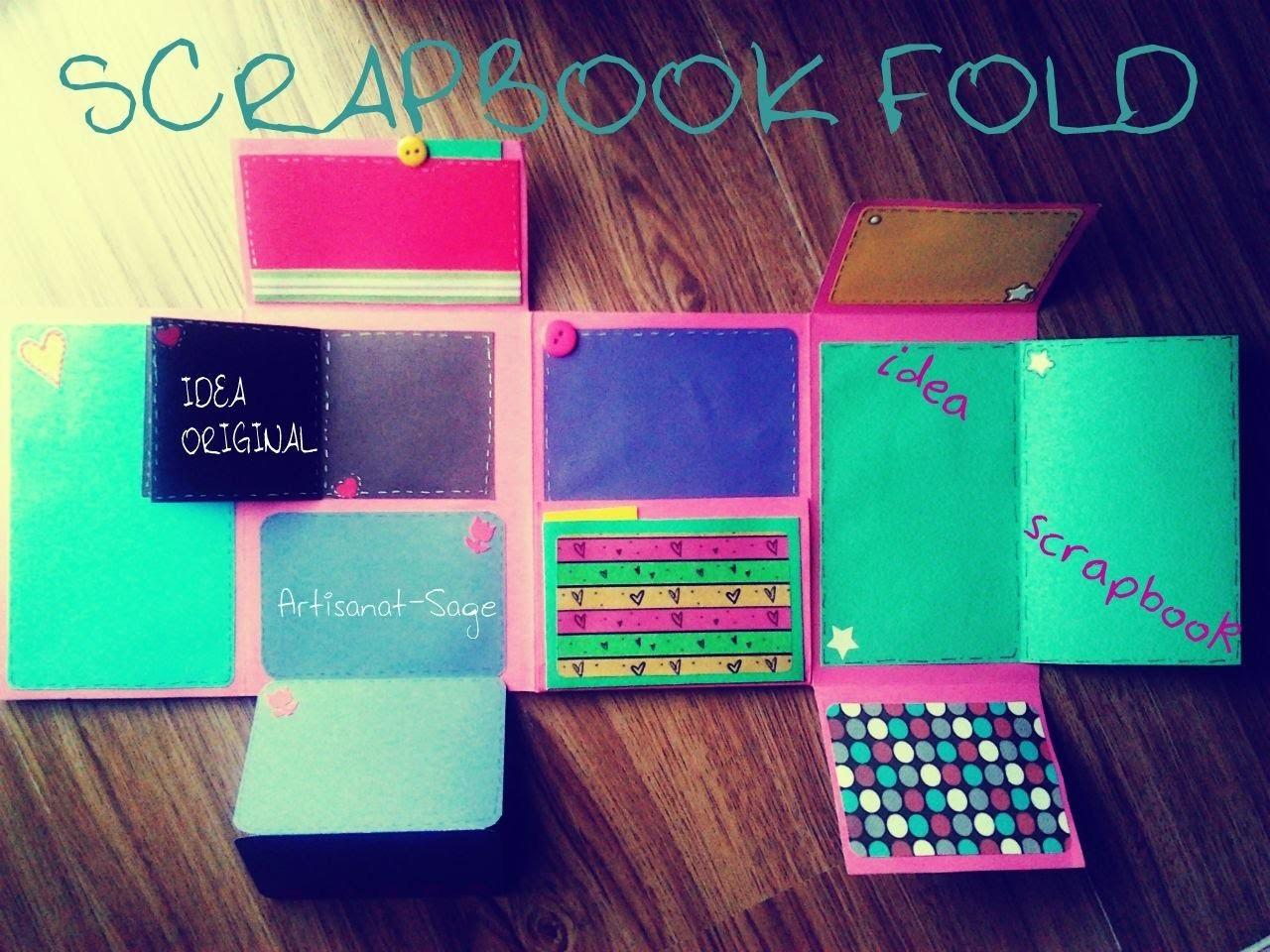 SCRAPBOOK FOLD