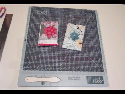 Scrapbook para principiantes: Cómo hacer un minialbum cartera (wallet minialbum)