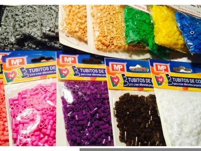 ♥ Súper Compra de Hama Beads. Perler Beads + info Sorteo ♥