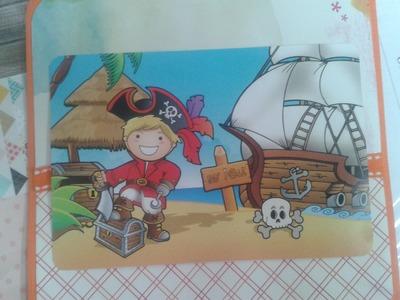 Tarjetas para el dia del niño parte 2 --scrapbook para ti