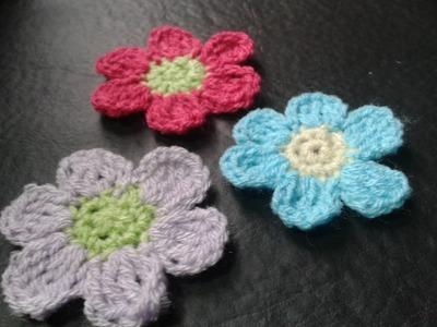 Tejemos?!: Como hacer margaritas a crochet