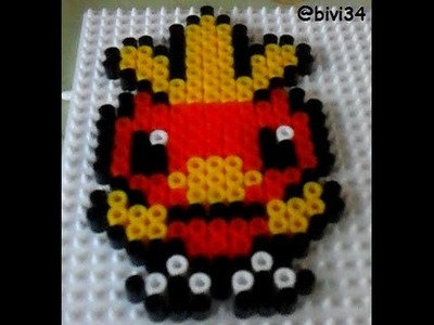 Torchic Pokemon Hama Beads midi