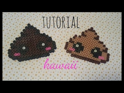 ❤ TUTORIAL: Caquita Kawaii con Hama Beads ❤