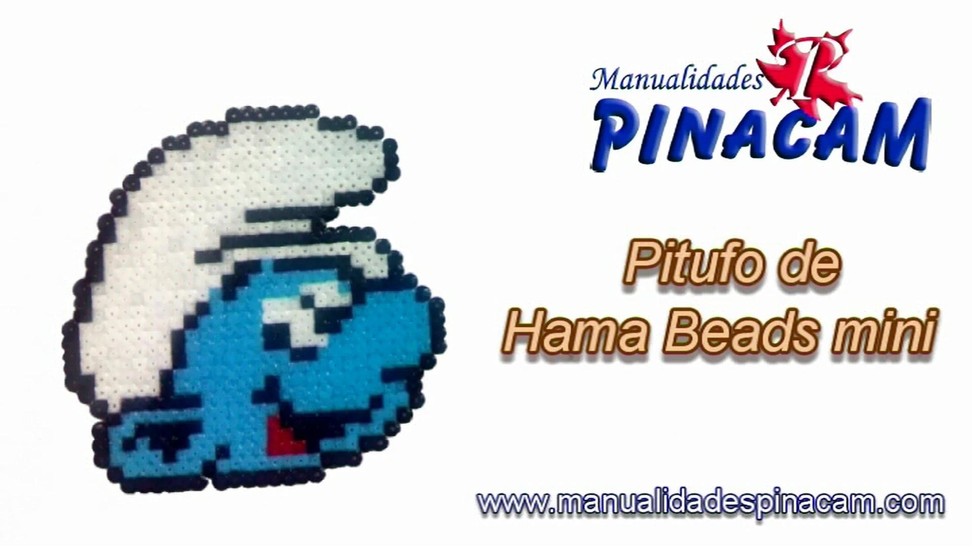 Tutorial pitufo Hama Beads mini
