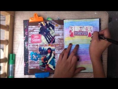 TUTORIAL SCRAPBOOK ♥ SMASH BOOK Haz una pagina conmigo ♥ (28 04 -2013)