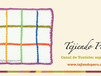 Cómo hacer detalles bordados en puntos deslizados a crochet