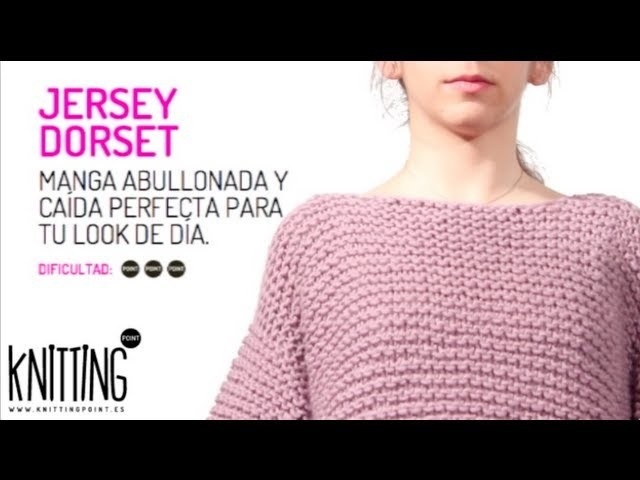 Conoce el Jersey de punto Dorset, de Knitting Point