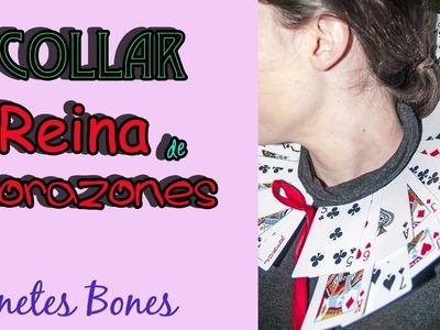 Cuello de la Reina de Corazones | Tutorial DIY