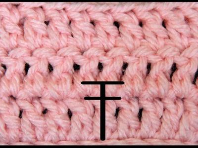 Curso Basico Crochet : Punto Alto