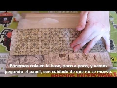 DIY Caja con scrapbooking (Tutorial)
