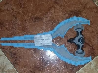 Halo espada hama beads midi
