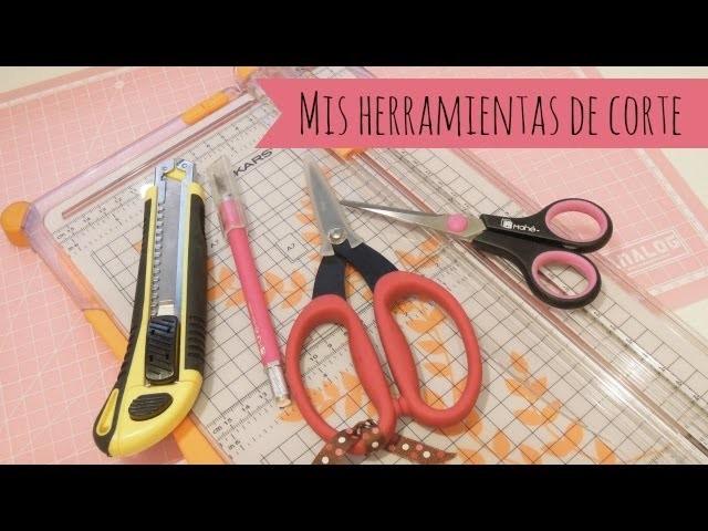 Materiales para scrapbooking: Mis herramientas de corte